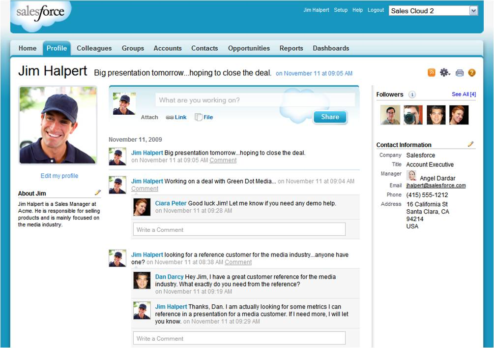 salesforce-chatterprofile
